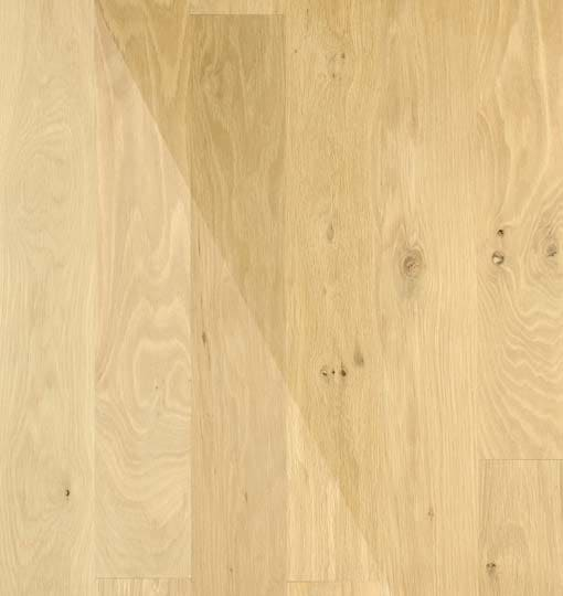 Atkinson & Kirby Traditional Unfinished Natural Oak Solid Strip 114mm 404428