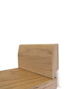 Solid Oak Skirting 65mm