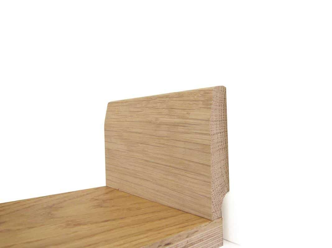 T Amp G Stair Nosing Unfinished Oak For 18mm Floors 2700mm