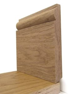 Soild Oak Torus Skirting
