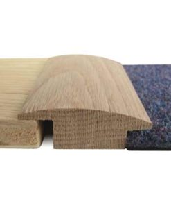 Hardwood Wood To Carpet Reducer 15mm Thick 2700mm Long