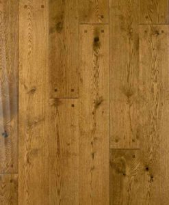501912 Atkinson & Kirby Pre-Finished Chatsworth Solid Hand-Scraped Square Pegged Oak Floor