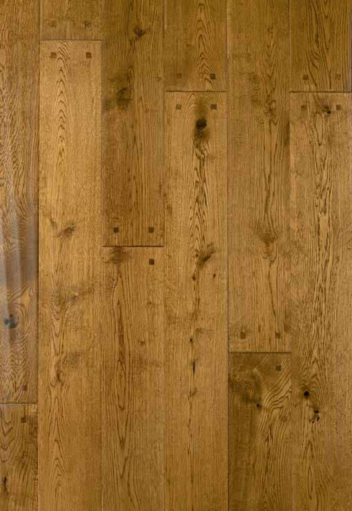 Diamond plus solid hand scraped square pegged oak floor for Hardwood flooring suppliers