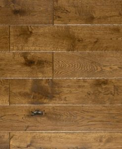 700420 Atkinson & Kirby Pre-Finished Burghley Solid Hand Scraped Stained Oak Flooring