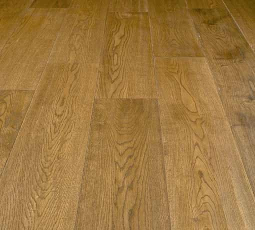 Diamond Plus Solid Hand Scraped Stained Antique Oak Floor