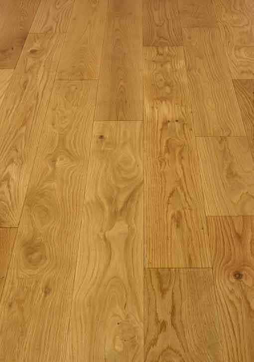 Caledonian Prime Solid Oak Floor 135mm Lacquered Wood