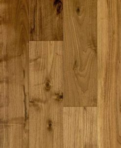 501899 Atkinson & Kirby Pre-Finished Solid American Walnut Flooring 130mm Lacquered