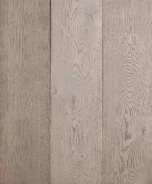 Staki Asphalt Grey Engineered Flooring European Oak 180mm Wide Grey Natural Oiled