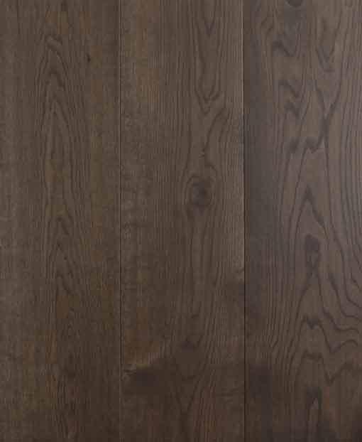 Staki Ebony Engineered Flooring European Oak 180mm Wide Black Hardwax Oil