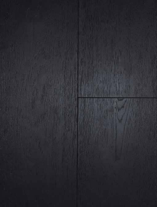 York Click Engineered Oak Black Brushed Matt Lacquered