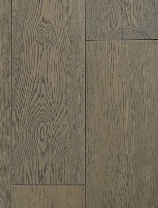 York Click Engineered Oak Grey Brushed Matt Lacquered Wood