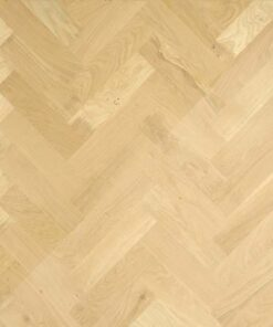 Atkinson & Kirby Traditional Solid Blocks Oak Floor 350mm Natural Unfinished 414404