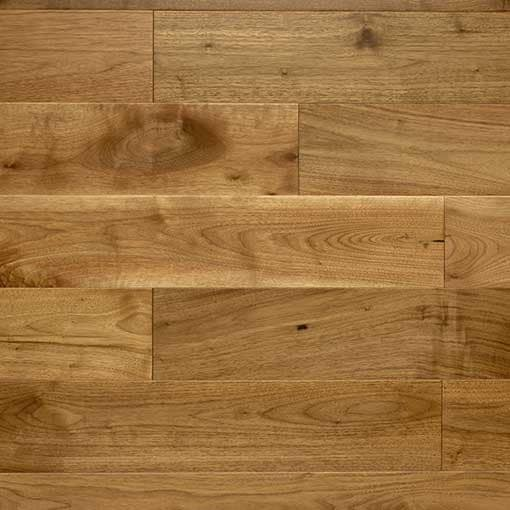 Caledonian Natural Engineered Walnut Floor 18mm Lacquered