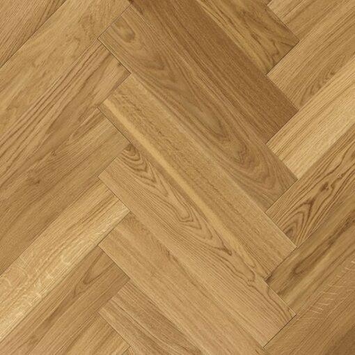 700751 Atkinson & Kirby Engineered Herringbone Harrow Oak Flooring