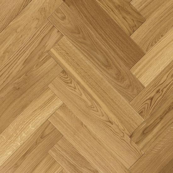 Atkinson Kirby Engineered Herringbone Harrow Oak Flooring Wood