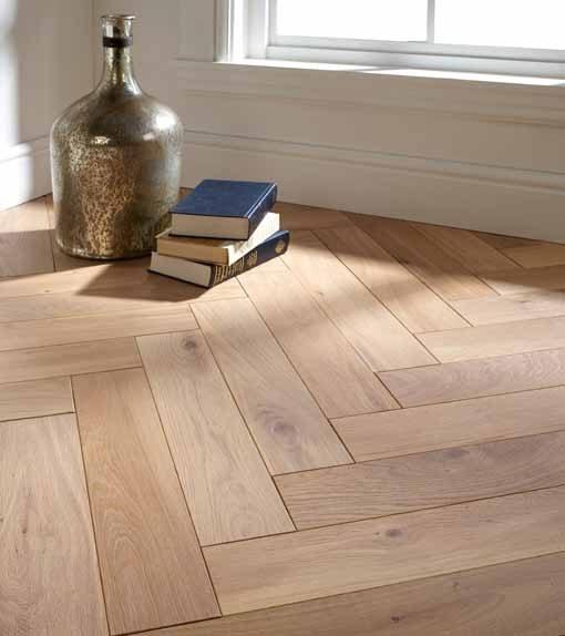 Atkinson U0026 Kirby Renaissance Engineered Blocks Rugby Oak Floor 500mm Rustic  Brushed U0026 White Oiled 700756