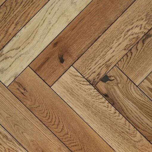 Atkinson & Kirby Engineered Herringbone Dulwich Oak Flooring