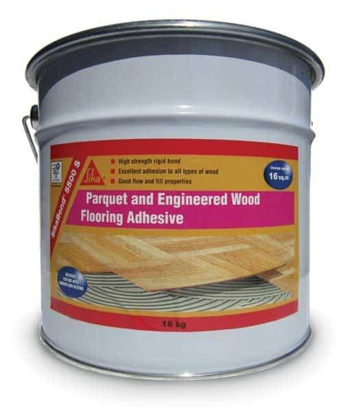 Sika 5500s Wood Flooring Adhesive 16kg Wood Flooring