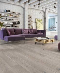 Holt Tintern Click Grey Stained Oak Floor Brushed Matt Lacquered