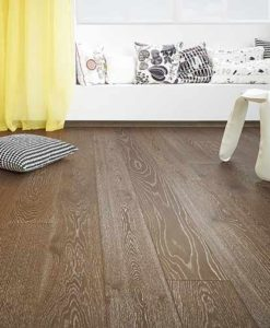 Holt Uffmore Click Stained Oak Floor Brushed Matt Lacquered