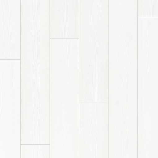 Quick-Step Impressive White Planks Laminate Flooring IM1859