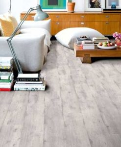 Quick-Step Impressive Ultra Concrete Wood Light Grey Laminate Flooring imu1861