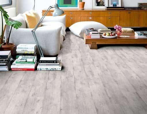 Quick-Step Impressive Ultra Concrete Wood Light Grey Laminate Flooring imu1861