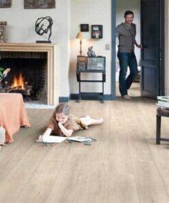 Quick-Step Impressive Ultra Saw Cut Oak Beige Laminate Flooring imu1857