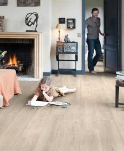 Quick-Step Impressive Ultra Saw Cut Oak Beige Laminate Flooring imu1857