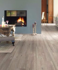 Quick-Step Impressive Ultra Saw Cut Oak Grey Laminate Flooring imu1858