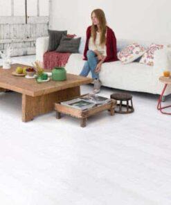 Quick-Step Impressive Ultra White Planks Laminate Flooring imu1859