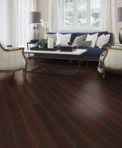 Boen Plank Oak Noir Stained Live Satin Lacquered
