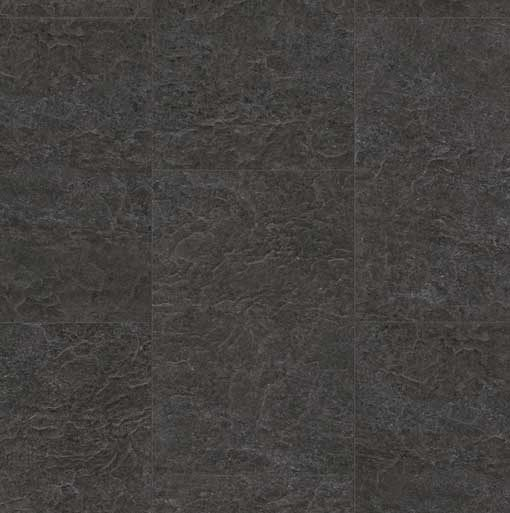 Quick-Step Exquisa Slate Black Galaxy Tile Laminate Flooring exq1551