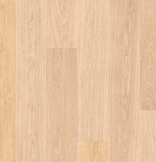 Quick-Step Largo White Varnished Oak Laminate Flooring LPU1283
