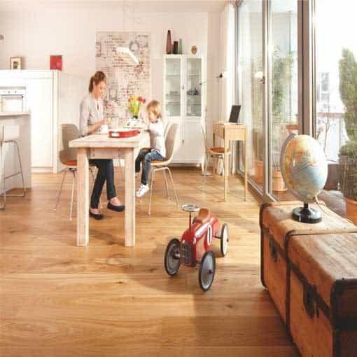 Boen Animoso Oak Plank Live Natural Oil Brushed