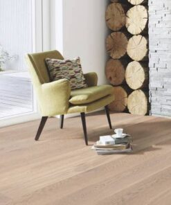 Boen Animoso Plank Castle White Brushed Oak Live Natural Oil