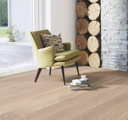 Boen Animoso Plank Castle White Brushed Oak Live Natural Oil