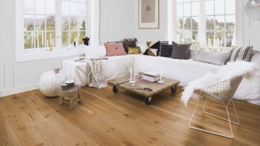 Boen Vivo Plank 181mm Oak Live Matt Lacquered Micro Bevelled