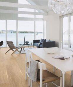 Boen White Andante Plank Castle Brushed Oak Live Natural Oil