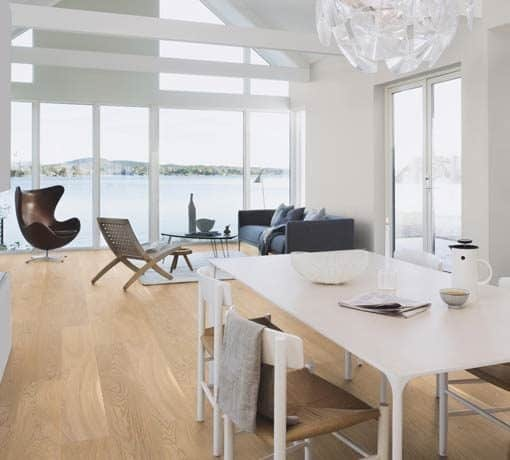 Boen White Andante Plank Castle Brushed Oak Live Natural Oil