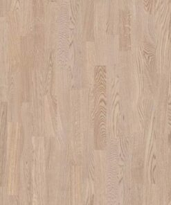 Boen 3 Strip Andante Oak White Pigmented Live Matt Lacquered
