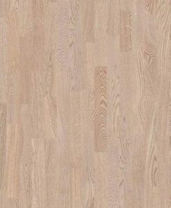 Boen 3 Strip Andante Oak White Pigmented Live Matt Lacquered