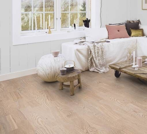 Boen 3 Strip Andante Oak White Pigmented Live Natural Oil