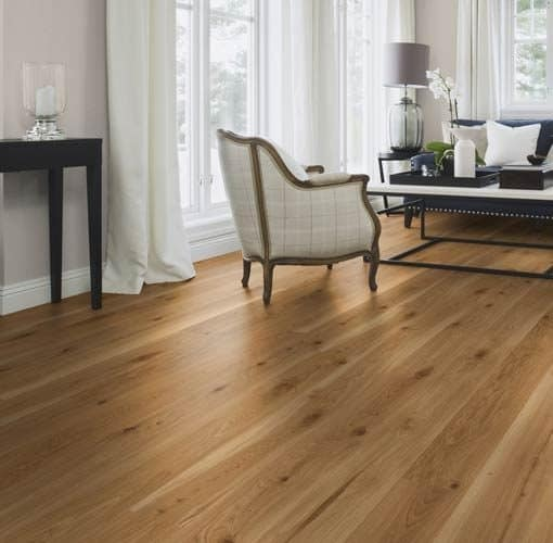 Boen Vivo Plank 181mm Oak Live Satin Lacquered Micro Bevelled