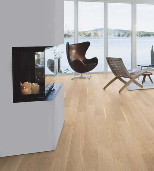 Boen Andante Oak Plank Live Pure Lacquer Brushed 4 Bevel 138mm