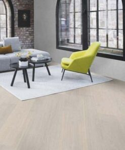 Boen Andante White Pigmented Oak Plank Live Pure Lacquer Brushed 4 Bevel 209mm
