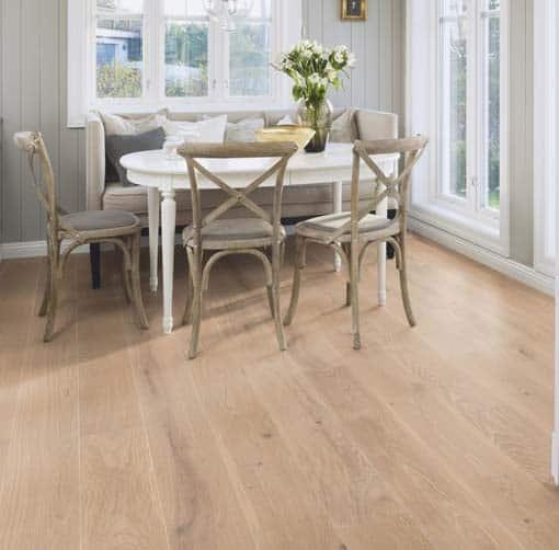 Hardwood Flooring Suppliers Michigan: Boen Stonewashed Oak Coral Brushed Live Natural Oil 209mm