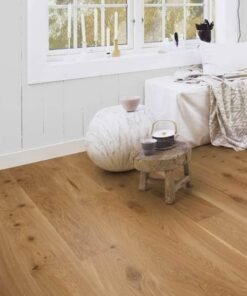 Boen Vivo Plank Castle Brushed Oak Live Natural Oil