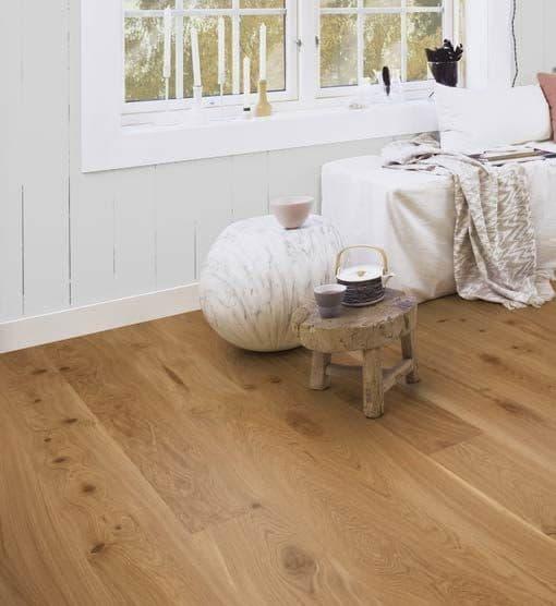 Boen Vivo Plank Castle Brushed Oak Live Natural Oil