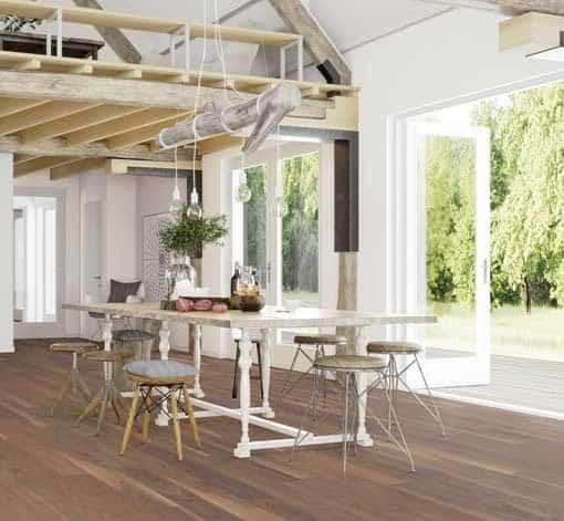 Boen Plank American Walnut Live Pure Lacquer 138mm Flooring